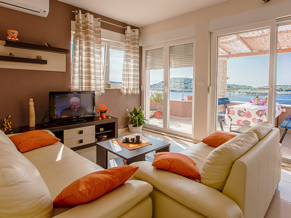 Affordable apartments in Vodice